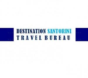 destination santorini logo